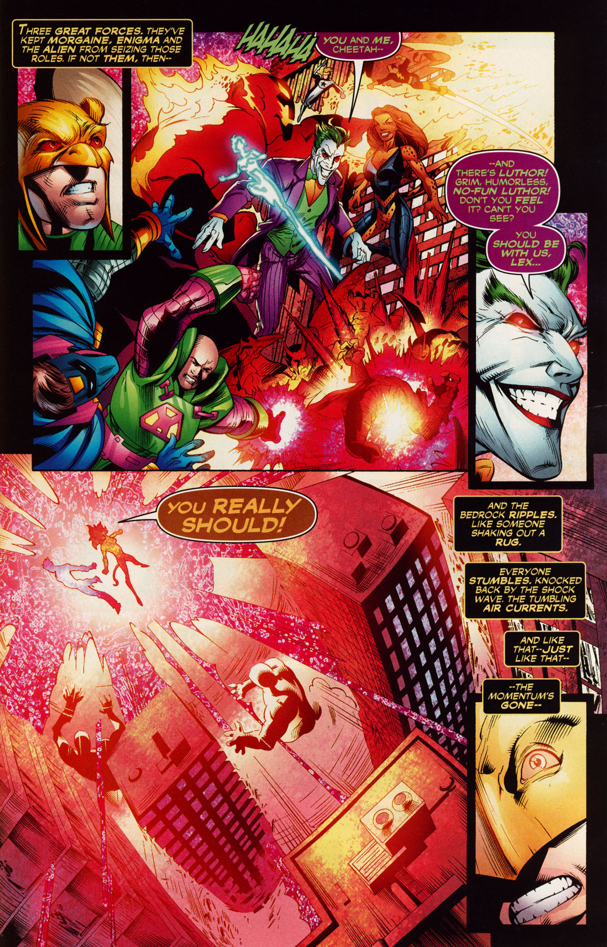 Read online Trinity (2008) comic -  Issue #39 - 29