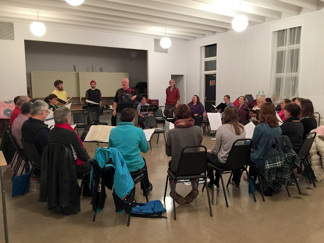 Choir is a group effort