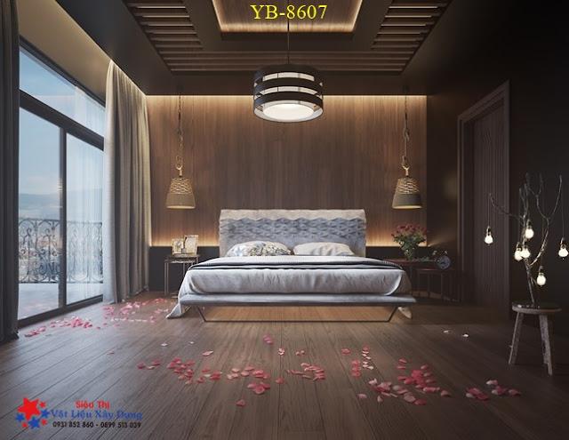 Tấm Ốp Tường PVC Vân Gỗ TGW-8607