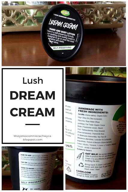 Lush, Dream Cream (Balsam do rąk i ciała)