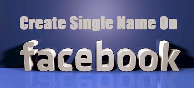 Facebook Single Name ID Trick 2018