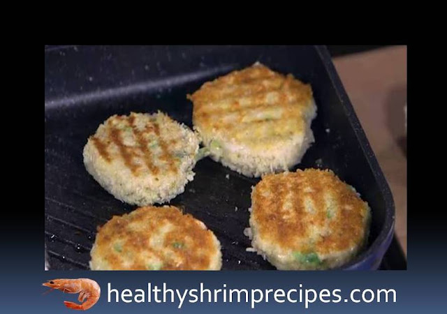 Shrimp burgers recipe