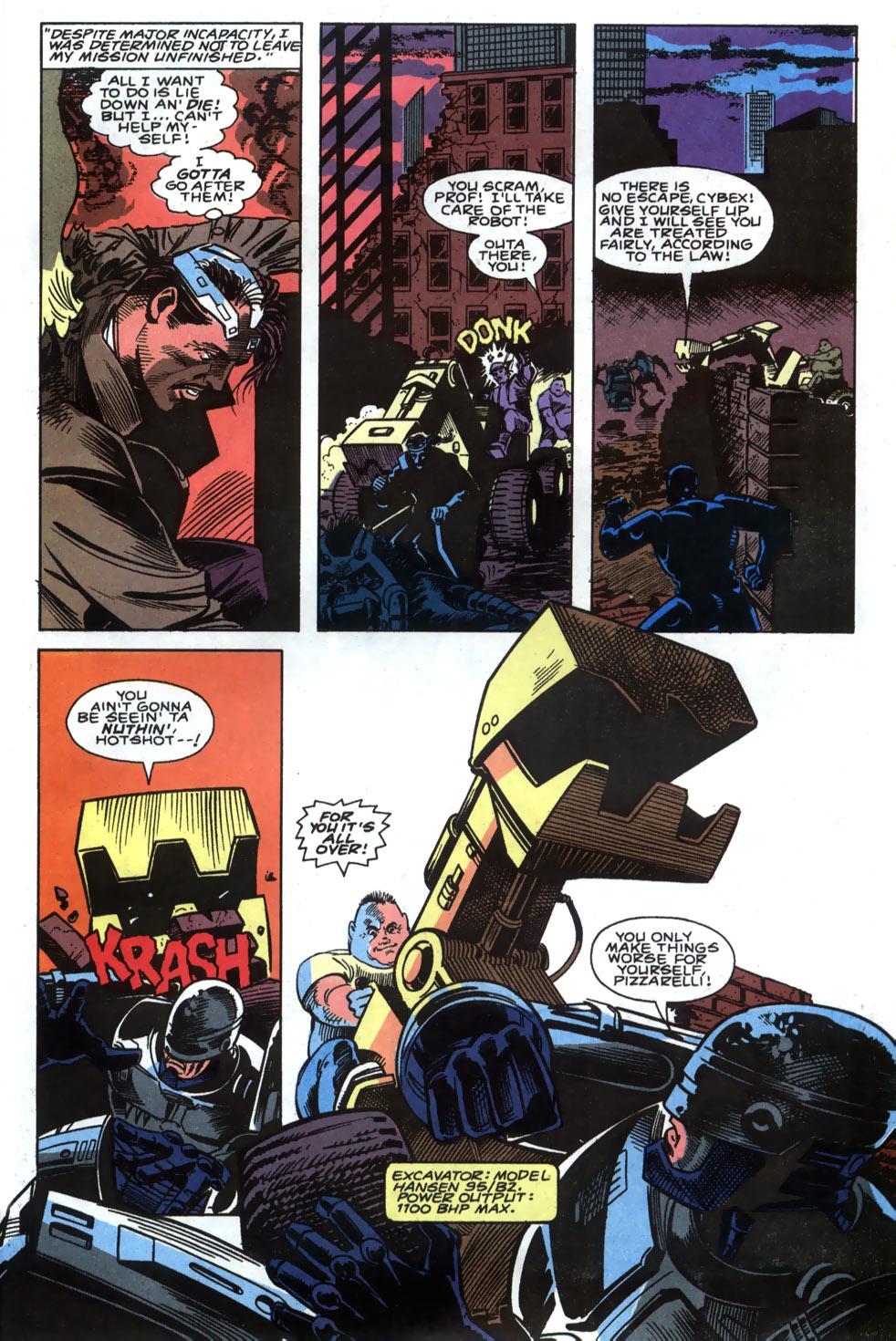 Read online Robocop (1990) comic -  Issue #4 - 17