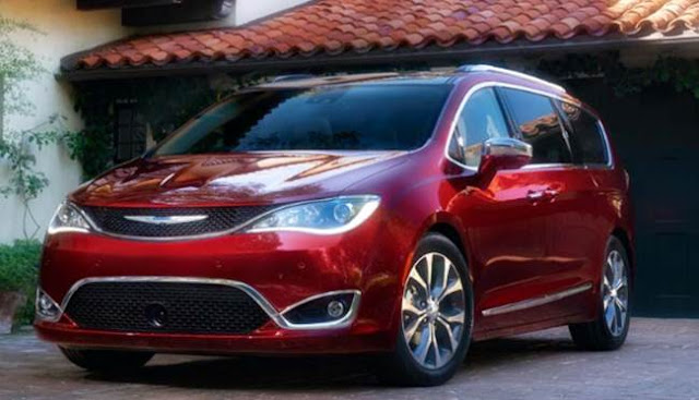 2018 Chrysler Pacifica Redesign