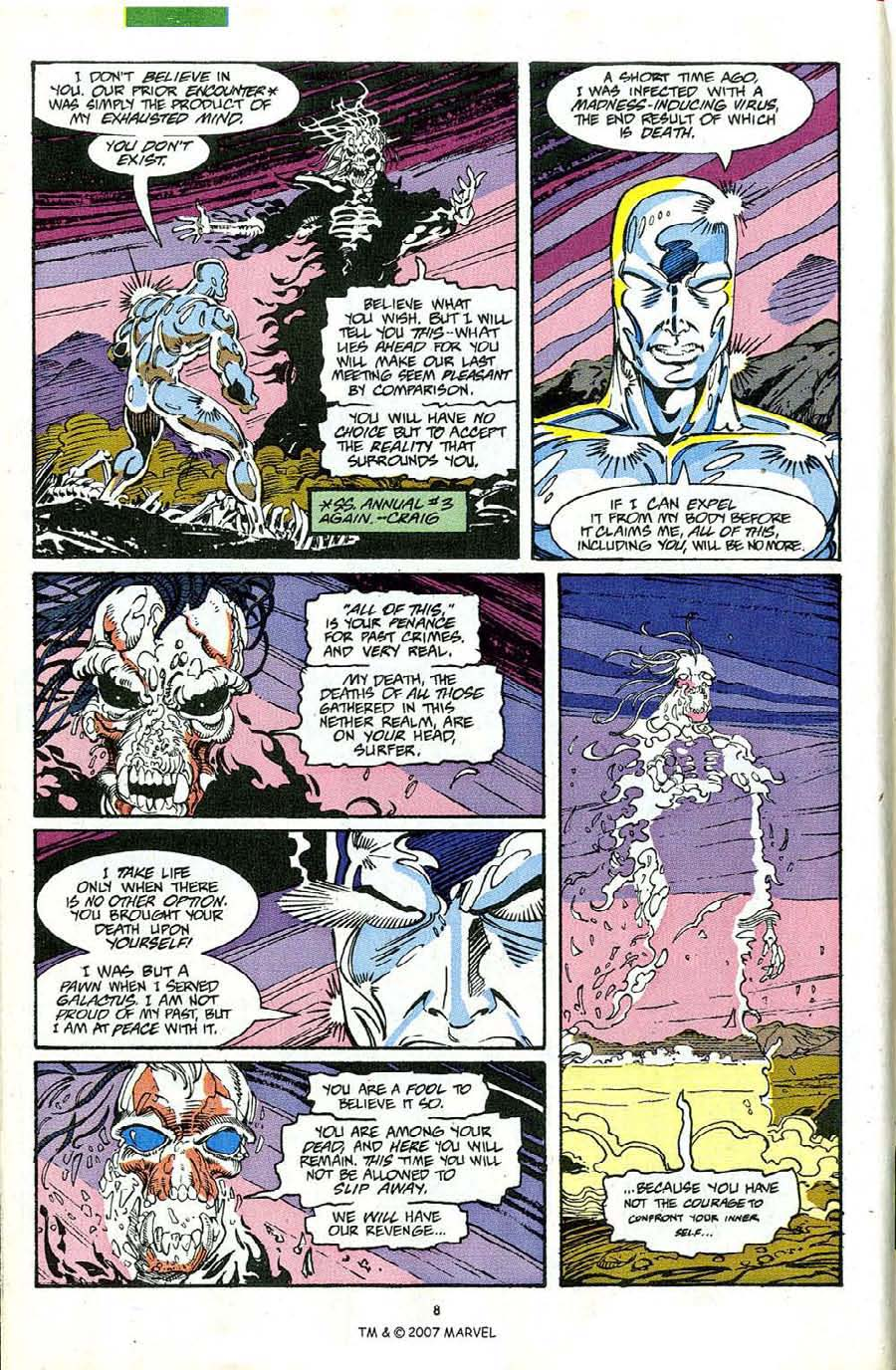 Read online Silver Surfer (1987) comic -  Issue #63 - 10