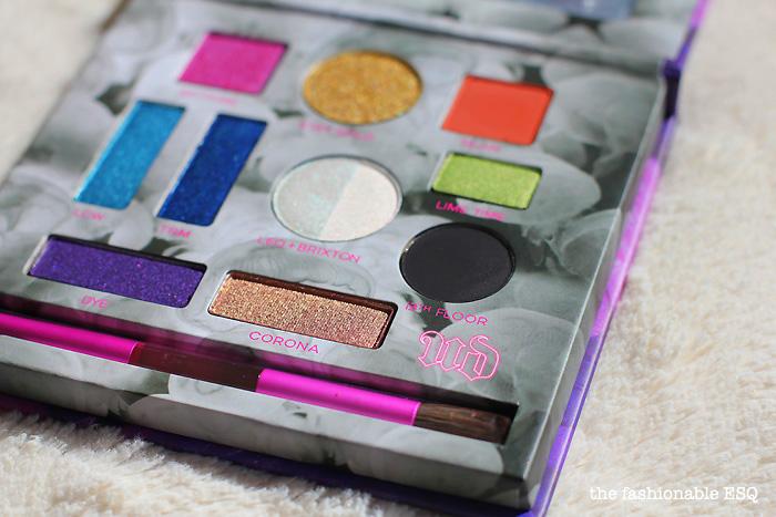 Kristen Leanne x Urban Decay Kaleidescope Eyeshadow Palette Swatches