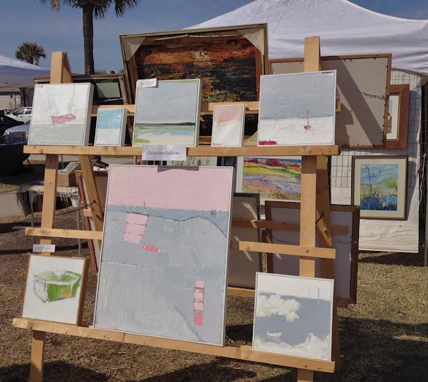 Outdoor Art Show Display Ideas