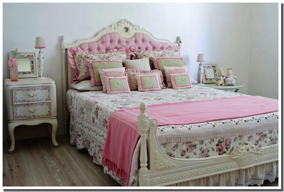 Nassima Home Chambre romantique en rose