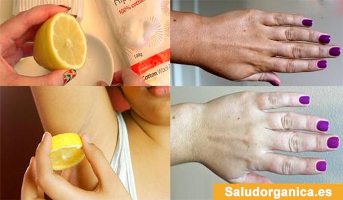 maneras de usas el limón para la belleza y cuidado personal