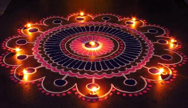Diwali rangoli designs freehand, Diwali Rangolu Images