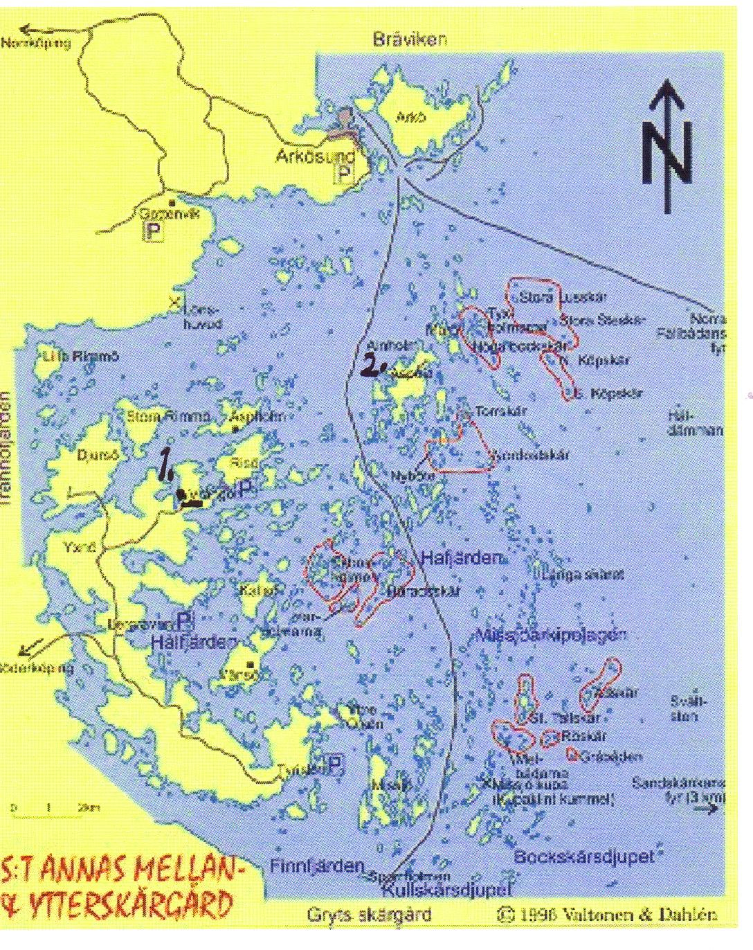 karta sankt annas skärgård MUSIKANTA: Annandagsutflykt till Aspöja karta sankt annas skärgård