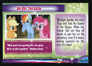 My Little Pony We Got Yer Back MLP the Movie Trading Card