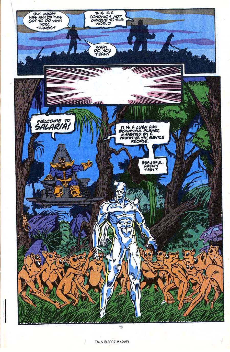 Read online Silver Surfer (1987) comic -  Issue #35 - 15