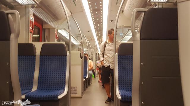 trem Aeroporto - Frankfurt