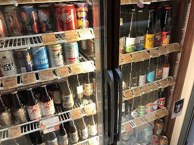 リカーズハセガワのクラフトビール冷蔵庫