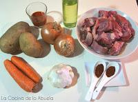 estofado ternera carne guisada olla rápida express 30 minutos ingredientes