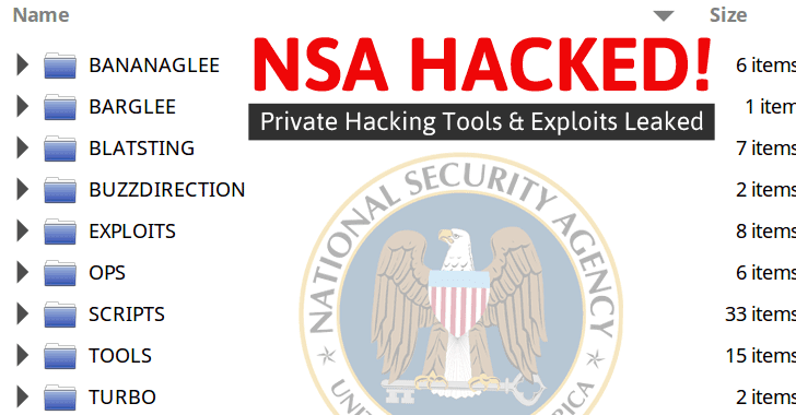 NSA's Hacking Group Hacked! Bunch of Private Hacking Tools Leaked Online