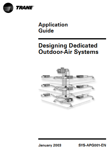 Ebook Designing Dedicated Outdoor Air Systems Trane Cộng đồng