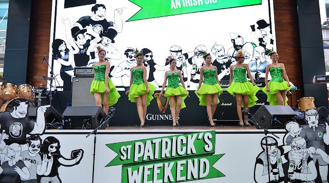 irish jig dance guinness malaysia st patricks day 2017