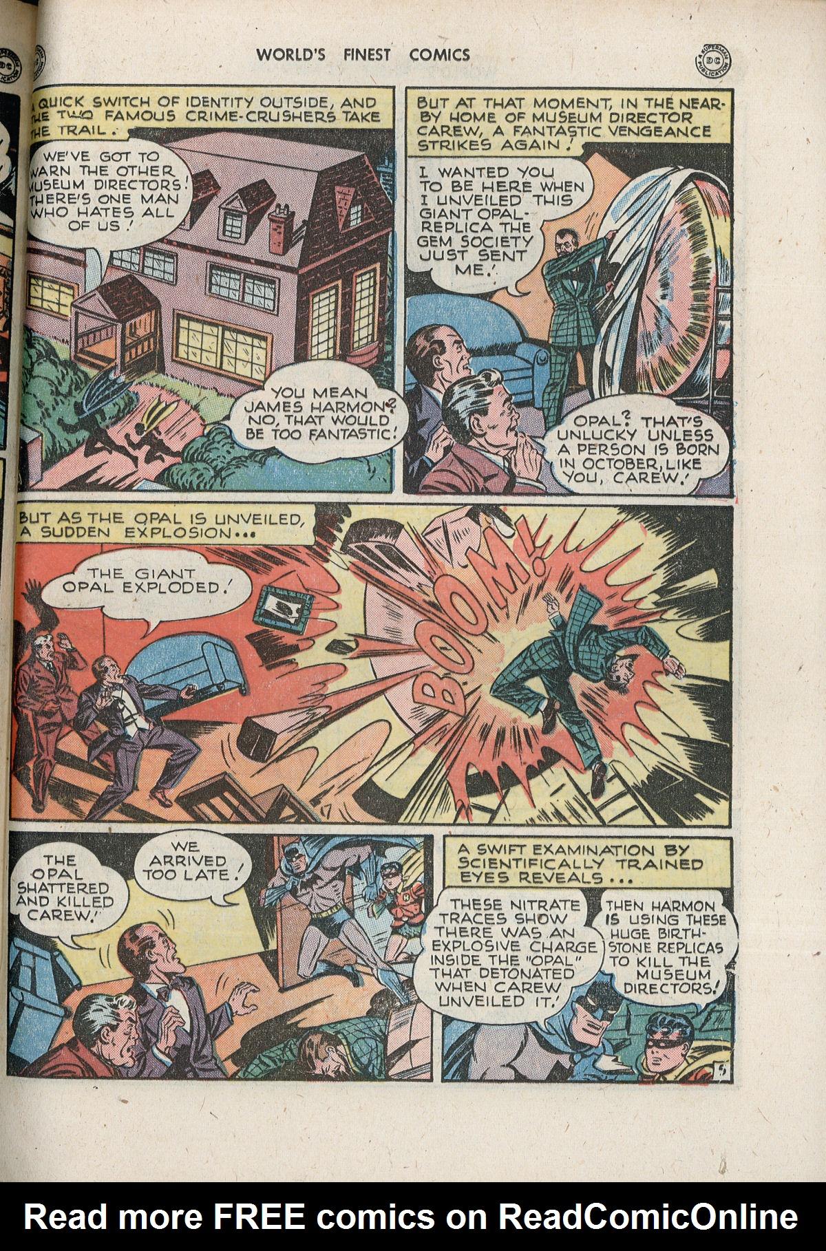 Read online World's Finest Comics comic -  Issue #33 - 65