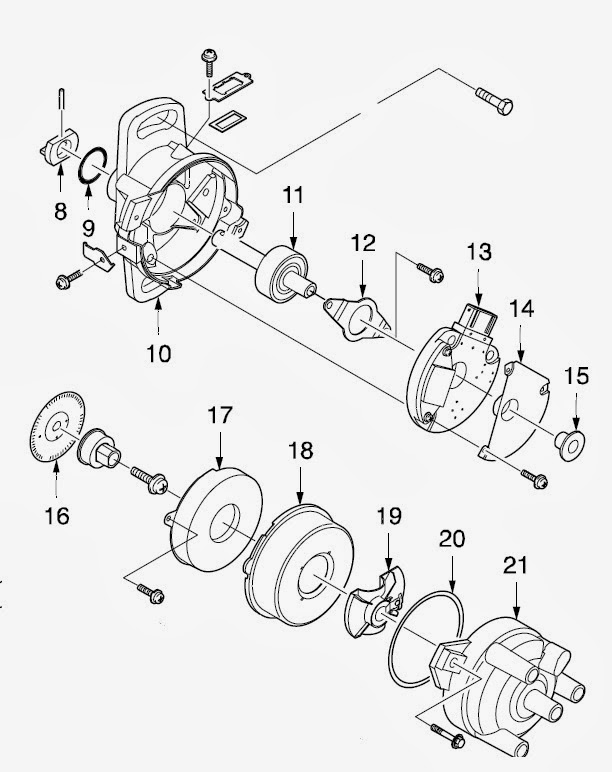Daewoo Matiz Ignition Wiring Diagram