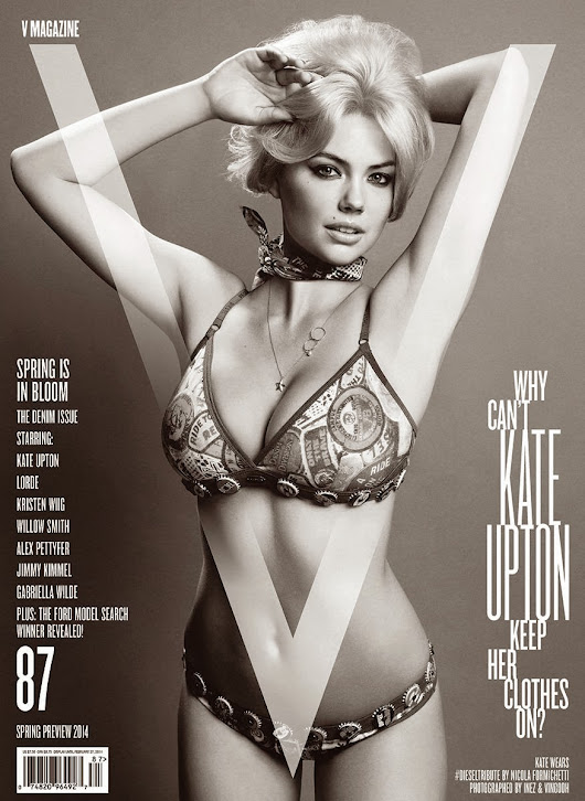 Kate Upton 2014 Bikini Picture, Looking Like Marilyn Monroe