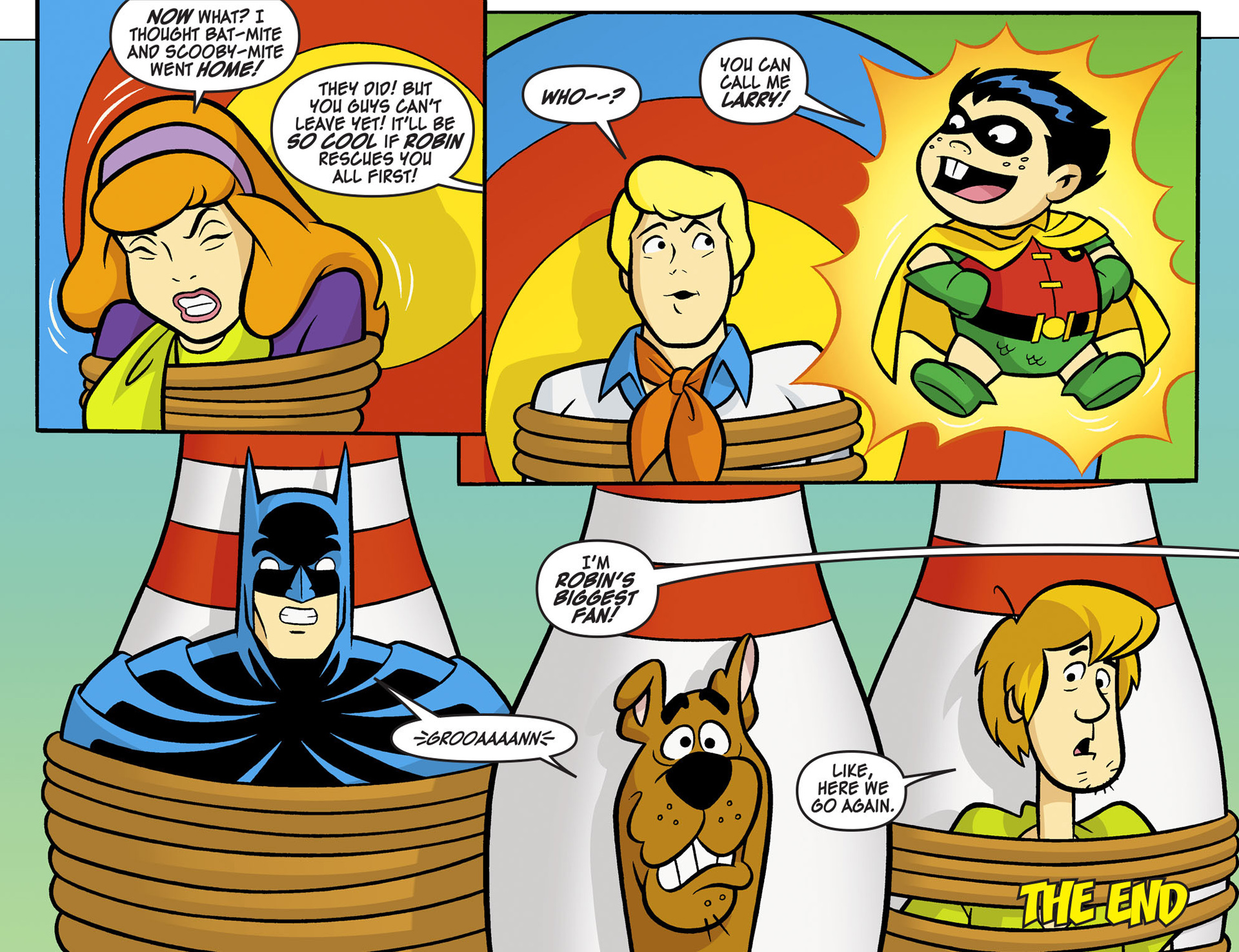 Read online Scooby-Doo! Team-Up comic -  Issue #6 - 22