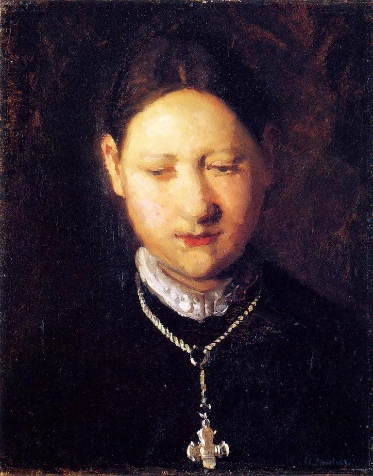 Marie Dalsbaard, Née Moller (1888), Anna Ancher