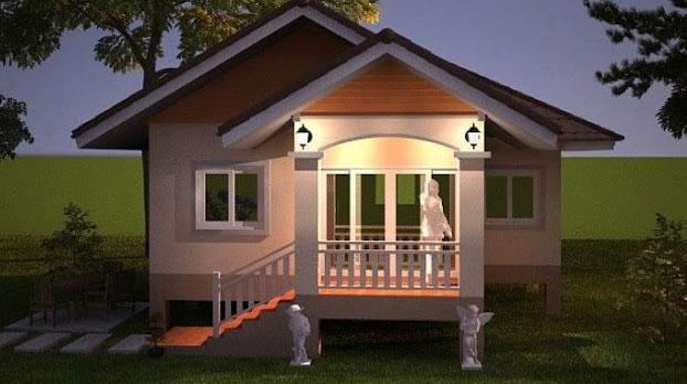 Desain Rumah Minimalis Biaya Murah 15 Jutaan