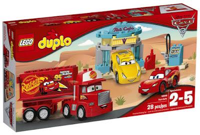 LEGO DUPLO Cars 3 - 10846 Cafetería de Flo | Disney 2017 | JUEGO DE CONSTRUCCIÓN | CAJA JUGUETE