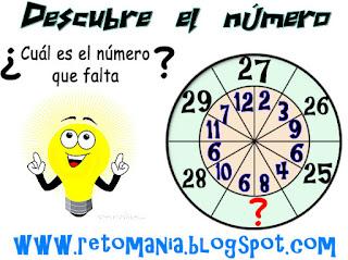 Juegos de pensar, Descubre el número, El número que falta, Jugando con números