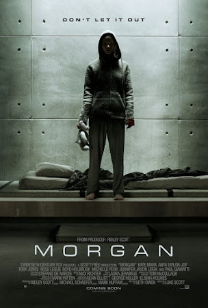 Poster Of Morgan 2016 In Hindi Bluray 720P Free Download