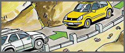 أهم قواعد السياقة في المنحدرات الاسبقيات