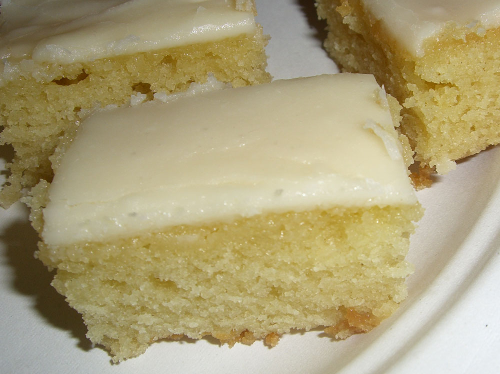 White Texas Sheet Cake Buttermilk