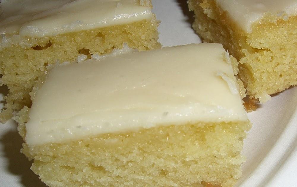White Texas Cake With Buttermilk