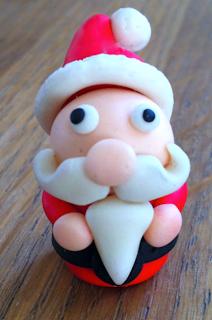 FIL BOOK : Activités pour Enfant: Ton père Noël en pâte d'amande et pâte à sucre