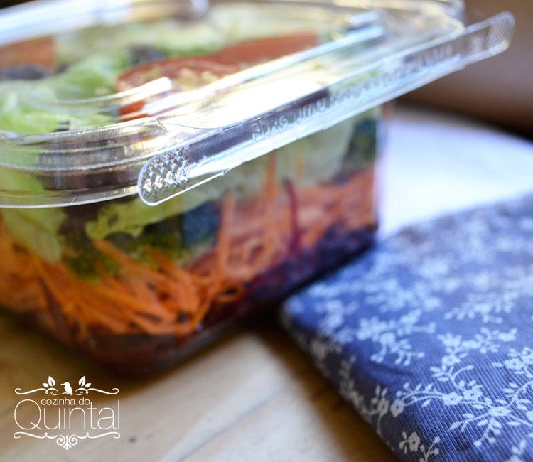 Salada no Pote com Lacre Cozinha do Quintal