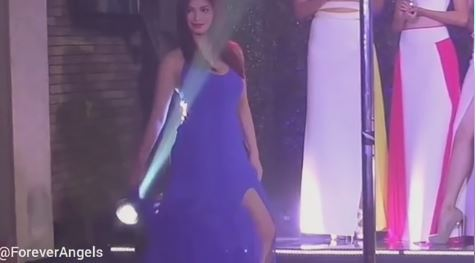 Angel Locsin Looking Hot In Blue In This Throwback Footage
