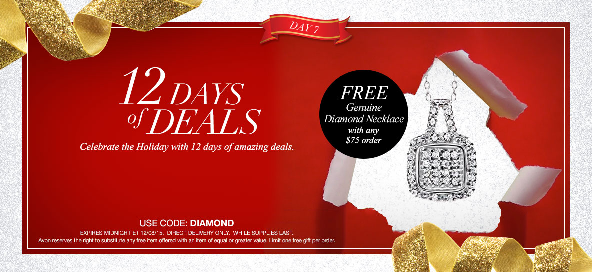 Avon Free Gift With Purchase Day 7 - December 2015