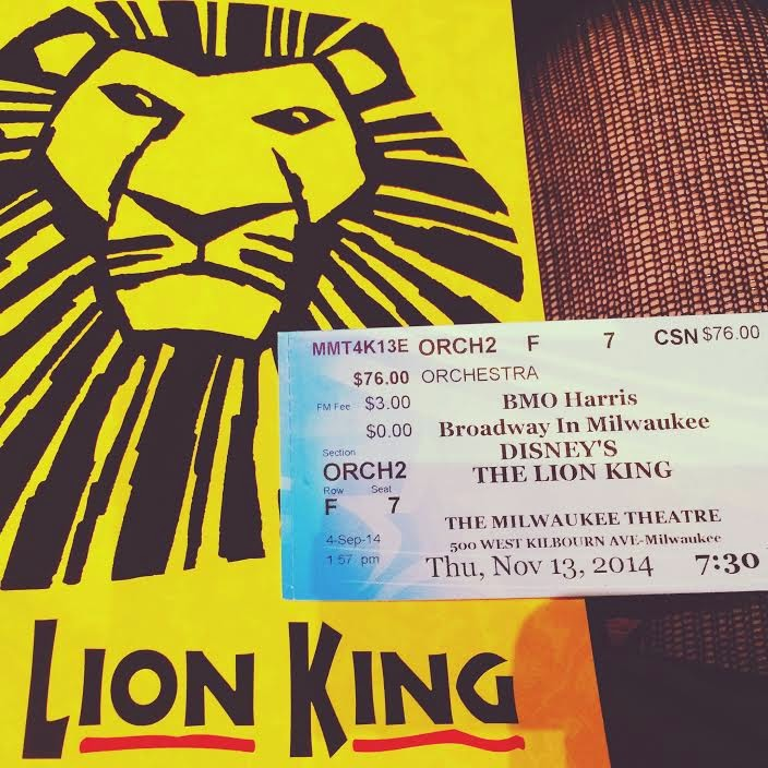Planet Kelsey Broadway In Milwaukee The Lion King