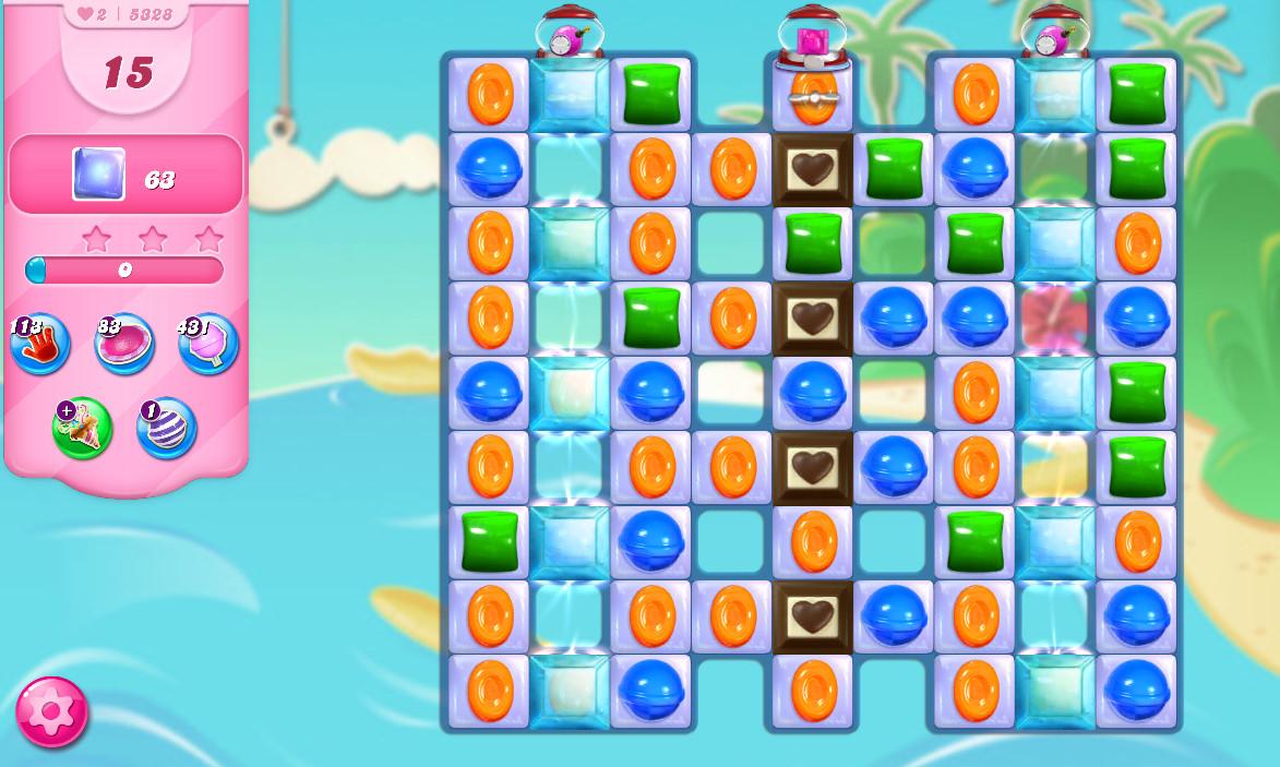 Candy Crush Saga level 5328