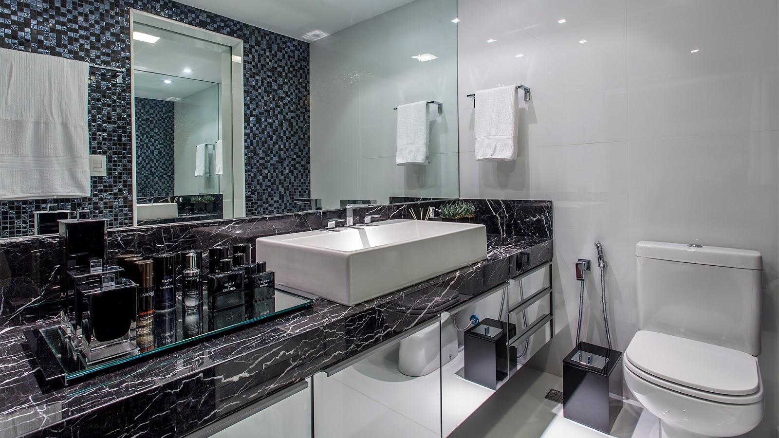 Banheiro Decorado Espelho  homefiresafetykitcom banheiros com pastilhas -> Banheiro Decorado Com Espelhos