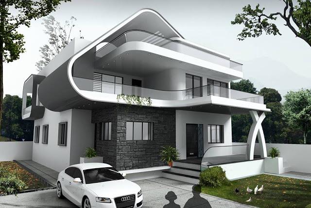 Konsep rumah minimalis mewah modern