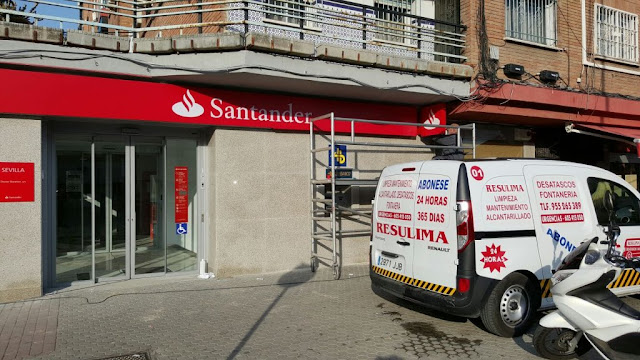 mantenimiento entidades bancarias resulima
