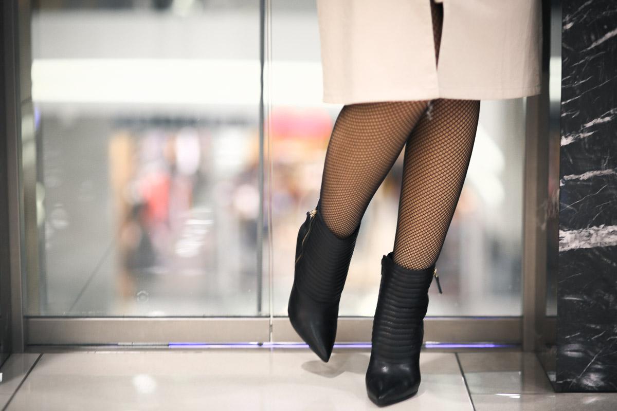 ботинки и колготки сетка