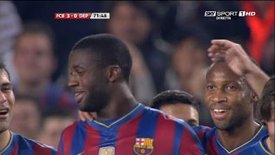 LFP-Week-32 Barcelona 3 vs 0 Deportivo 14-04-2010