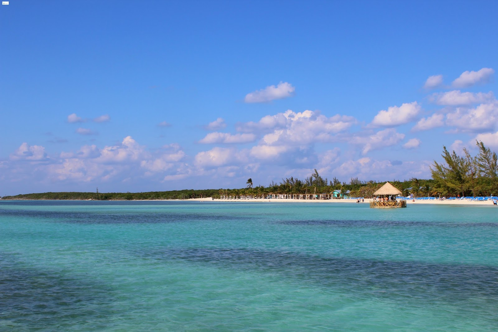 caravan sonnet coco cay bahamas