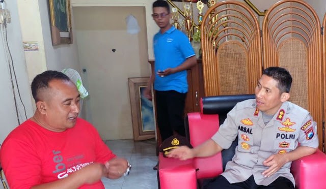 Kapolres Lumajang AKBP DR. Muhamad Arsal Sabhan, SH, SIK, MH, MM