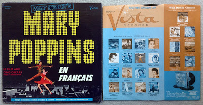 Mary Poppins En Francais Front Cover
