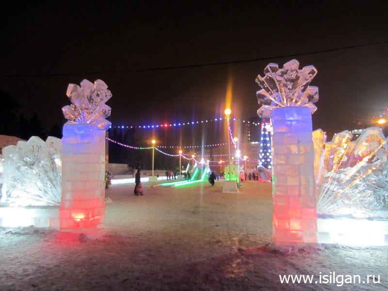 Ледовый городок 2018. Город Челябинск